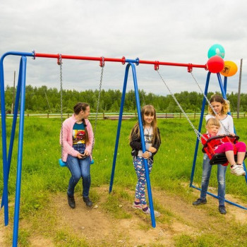 Открытие детской площадки с. Усть-Тым